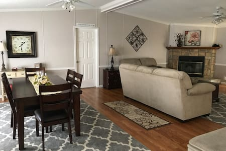 Quiet country area / Sleeps 5+ / House to yourself