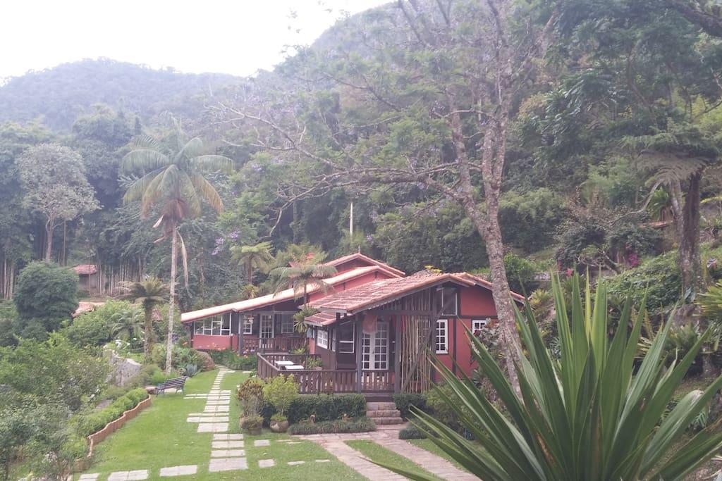 Nas Montanhas: single room na Reserva Mãe do Ouro