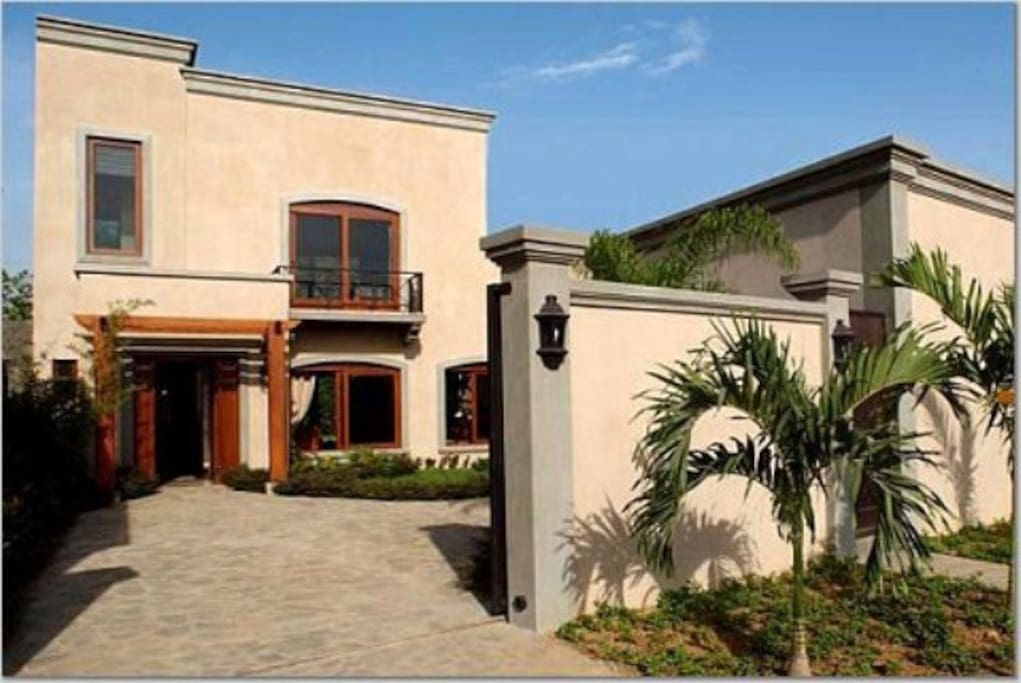 Private, Enclosed Front Courtyard with Secure Parking