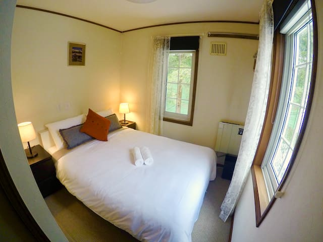 Mojo Lodge: Single room with private bathroom - Hakuba-mura, Kitaazumi-gun - Bed & Breakfast