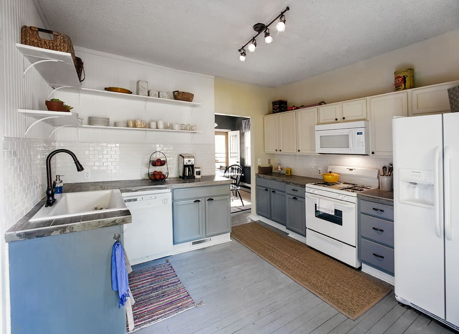 Renovated Kitchen with upscale cookware