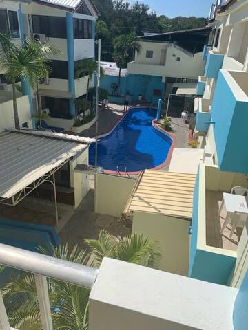 Pool view Europa guest fr Pedro Clisante beach 5mi
