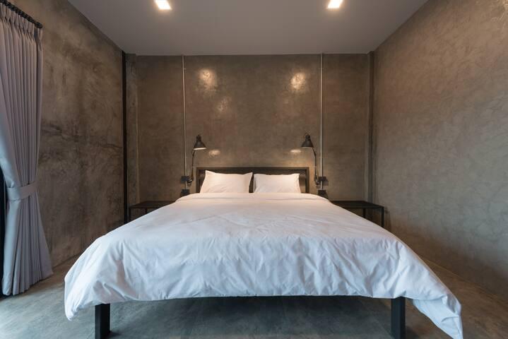 Bedroom- Deluxe Double Room