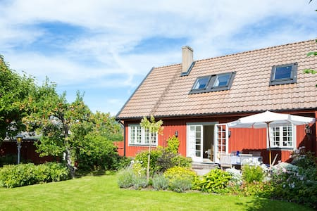Splendid holiday home in center of Båstad