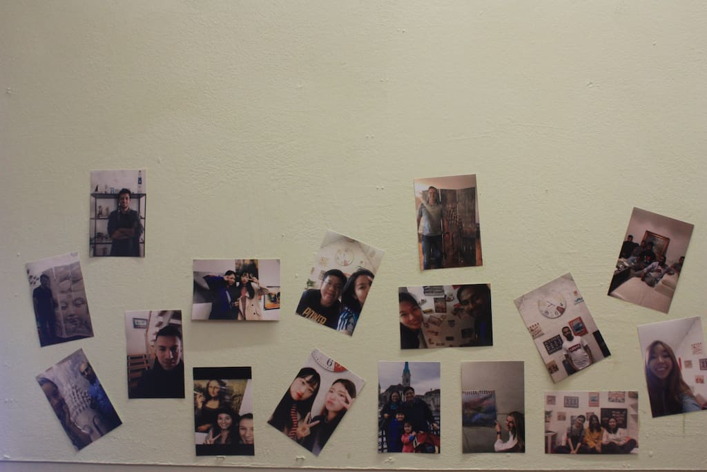 Selfie corner for our guests (updating)