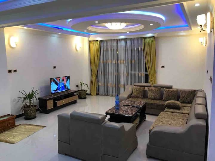 luxury 3 bed rooms apartment in Addis Ababa