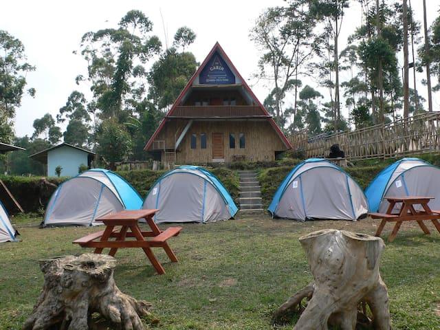Camping Di The Cabin Situ Cileunca