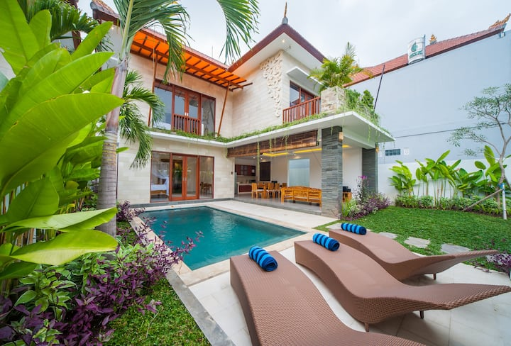 """75% OFF"" 3 BR Villa Ubud Hill 1 with private pool"