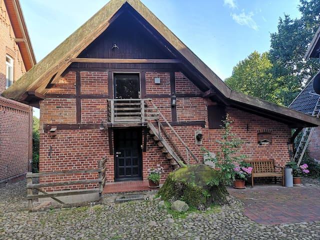 Hexenhaus auf dem Hansenhof mit Sauna und Garten