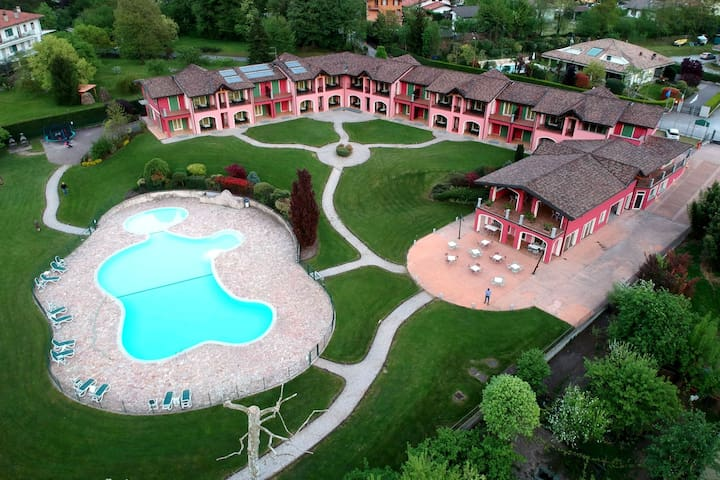 Schönes Appartement in Idro mit Swimmingpool