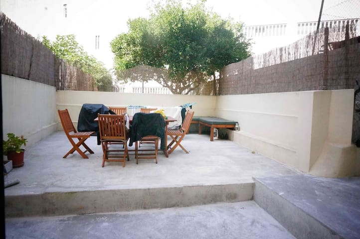 Confortable and cosy terrace flat - Lissabon - Appartement