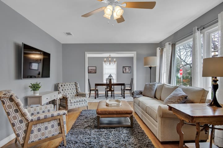 THE NEST-CHARMING HOME 1 BLK TO DOWNTOWN MCKINNEY!