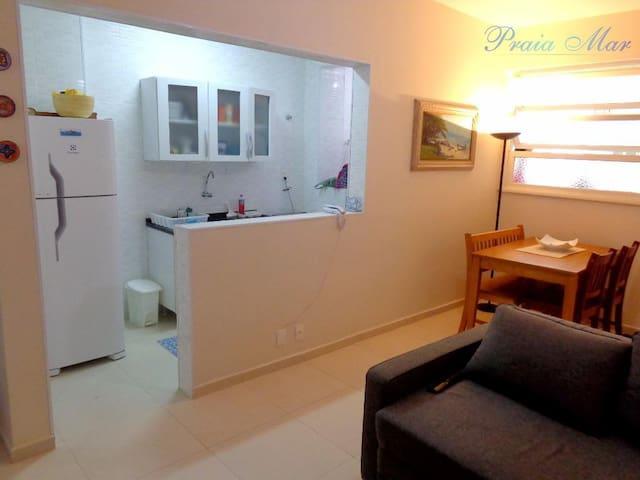 Apartamento Pitangueiras - Guarujá 100 m da praia.