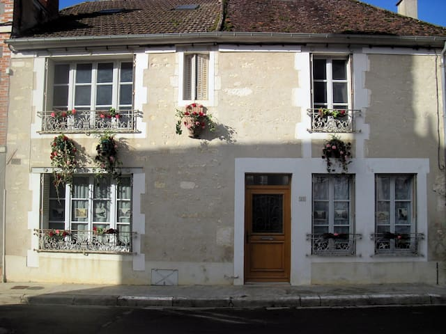 Charming traditional village house in Burgundy - Irancy - Hus