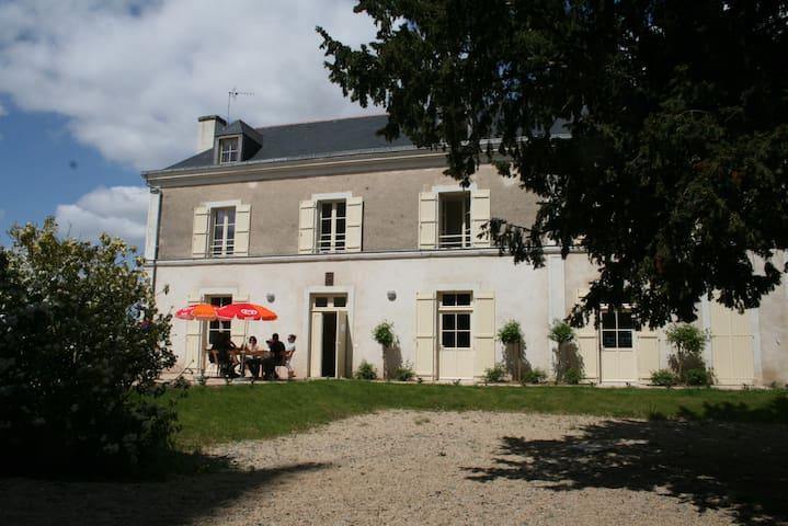 GITE LE PRESBYTÈRE - CHAMBRE 5 - 3 LITS