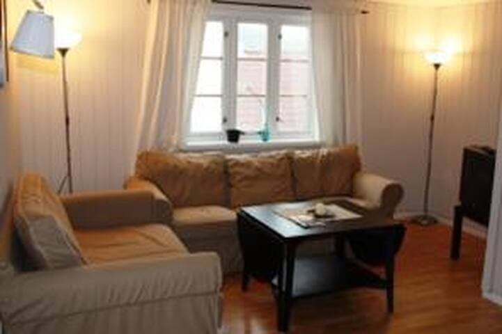Sandefjord havnegata 8 i den gamle  delen av byen - Sandefjord - Apartament