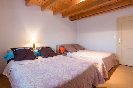 Chambre d'hôte pour 4 personnes - Sacey - Bed & Breakfast