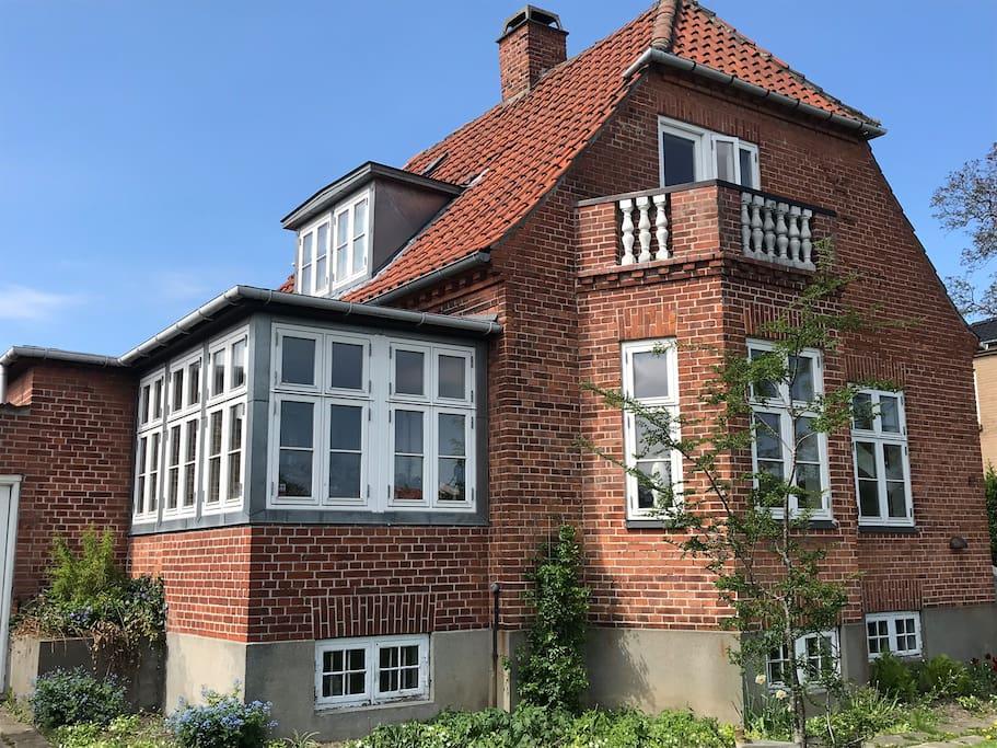 Classical villa in Copenhagen