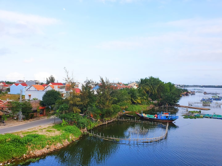 Hoi An,1BR, Free BF/ Bike❤5' Beach❤Book 2 Free 1N❤
