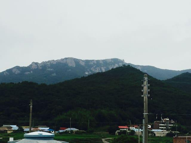 남해 상주 민박