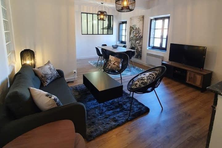 Charmant Appartement 58m²- 6p / Centre historique