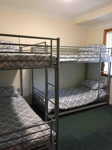 Bedroom 3 2 double bunks top bunks suit children only