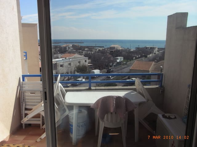 Location appartement Frontignan plage