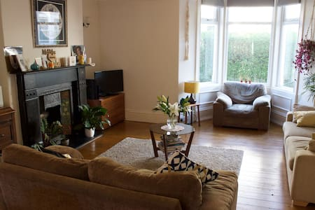 Beautiful period house close to beach - Whitley Bay - 一軒家