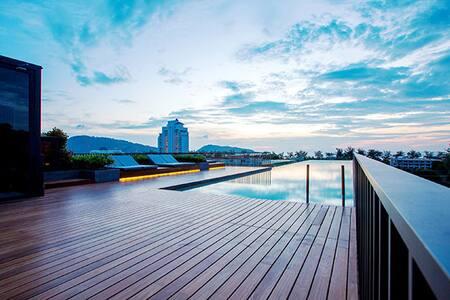 New studio in Patong beach area - Patong - Condominium