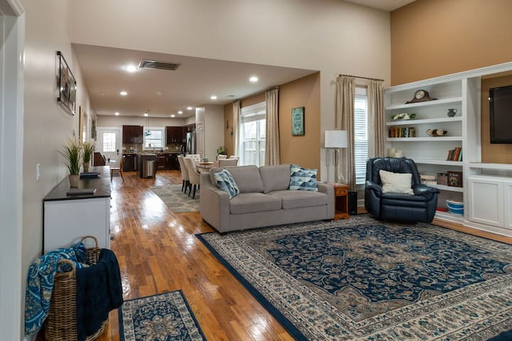 Enjoy our open concept living space.