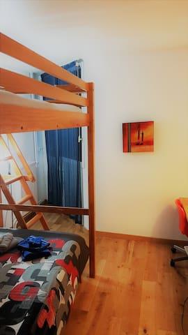 Bedroom 2 bed+ Mezzanine