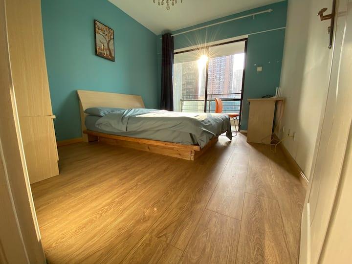 Guest Room C · 2020蓝灰系列/单间1.5米床