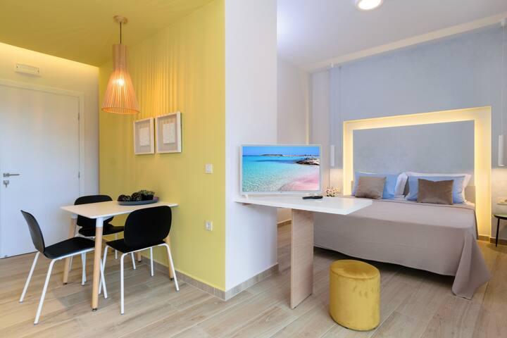 New modern studio★Wifi★5 min to Falasarna beach