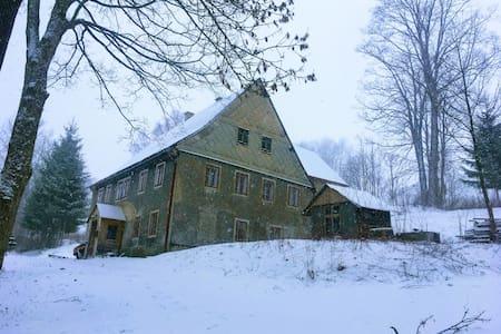 Ski/bike Oldhouse Vejprty.
