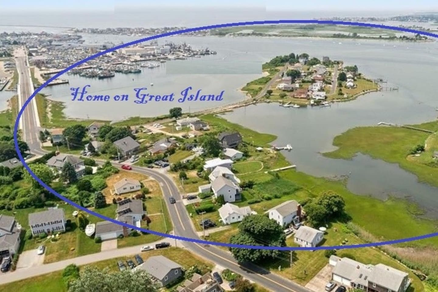 Home is on Great Island