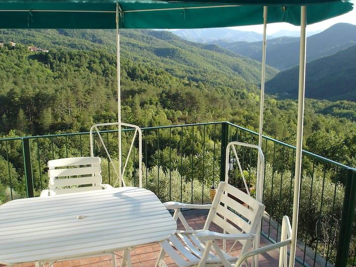 Bettyhouse, splendida vista sulla valle