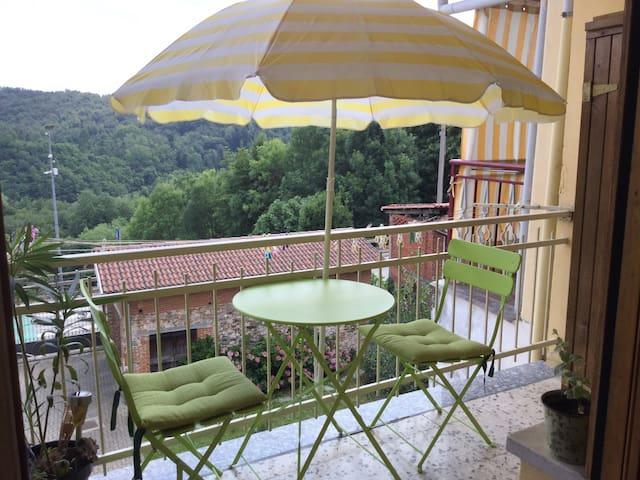 Flat with balcony in Vidracco