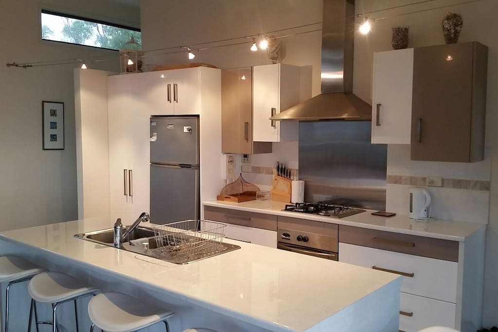 Modern kitchen, fully supplied