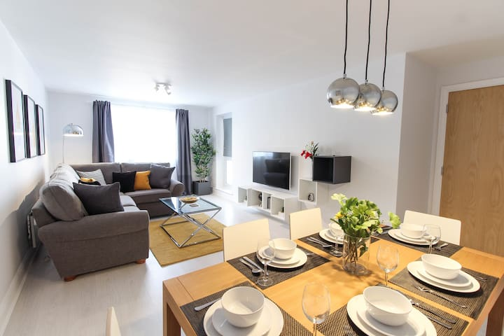 Luxury 2 Bed Apartment - Heart of Wembley Park