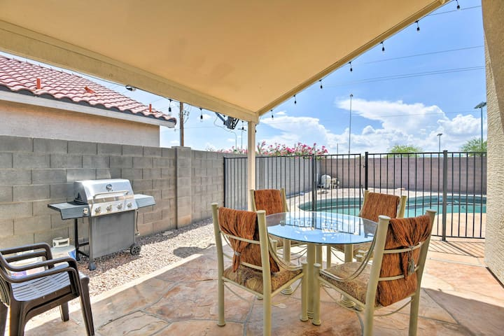 NEW! Glendale House with Private Pool & Game Room!
