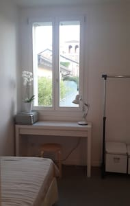 Single Room with private Bathroom_Well connected - Codogno - Apartment - 2
