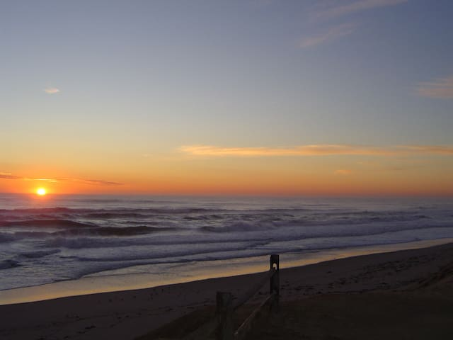 One of our favorite Wellfleet beaches at sunrise