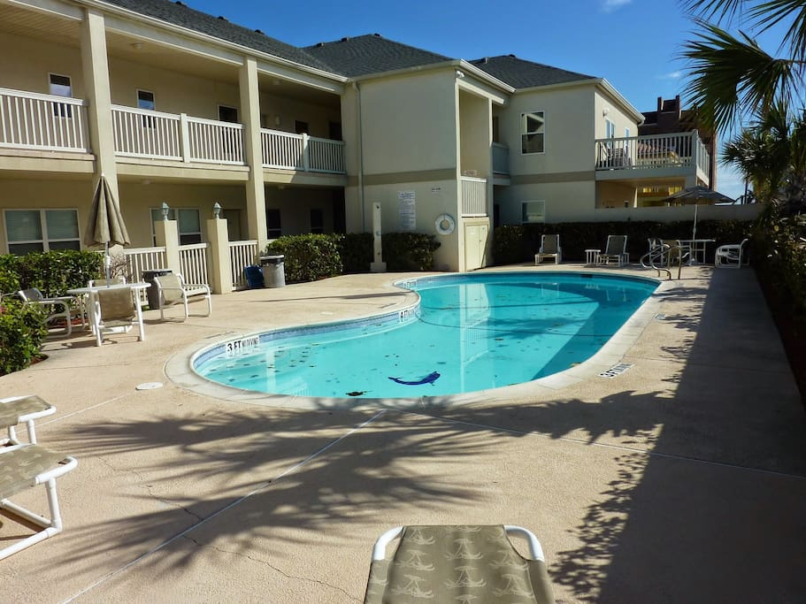Good size pool shared with only 12 units