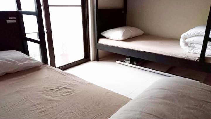 背著包旅行去_慢居都蘭/ Bunk beds Room at Man_Jui hostel