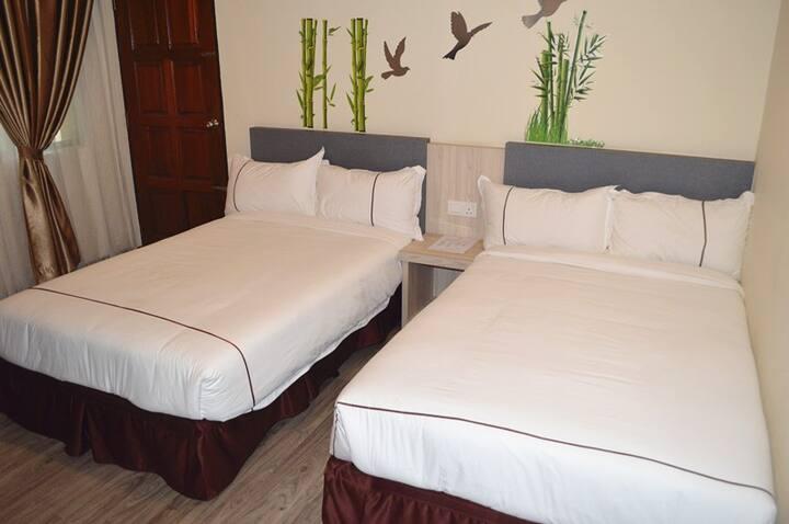Angsoka Hotel Teluk Intan Twin 111