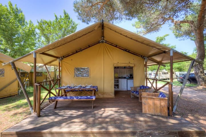 Sea Star - Two Bedroom Glamping Home
