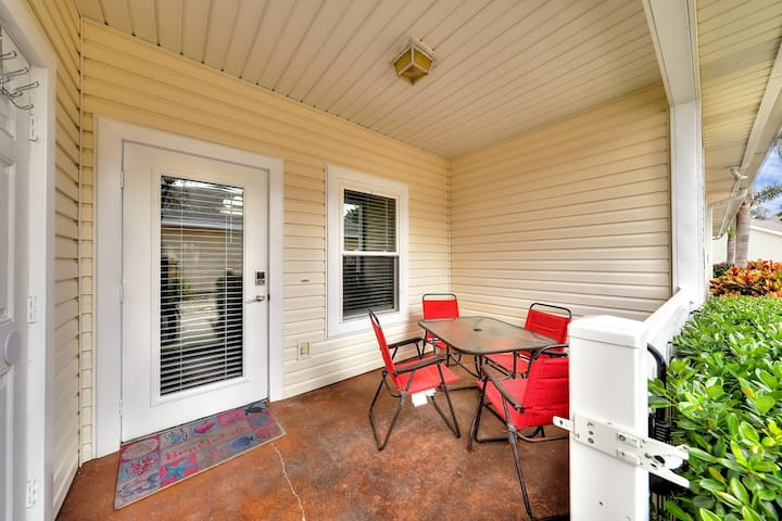 Dog-friendly home w/ a private patio & shared lagoon pool - close to the beach