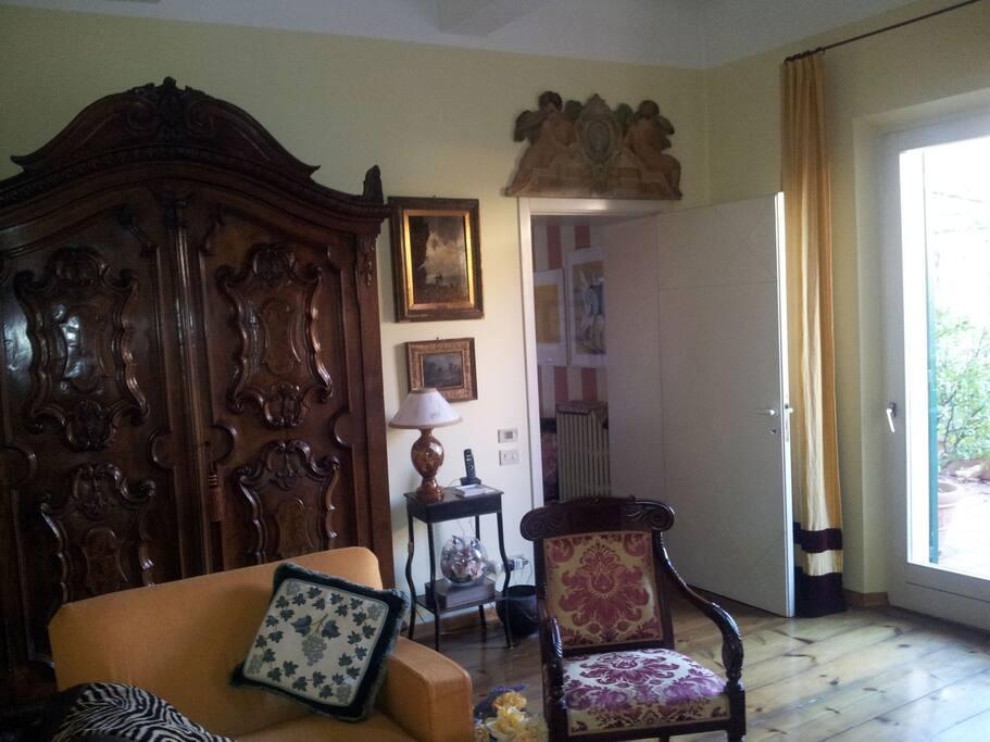 Sala al piano terrazzo