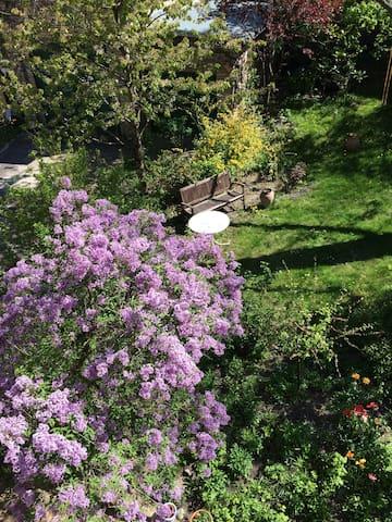 Toplage,Uninähe, Zimmer mit eigenem Bad und Garten