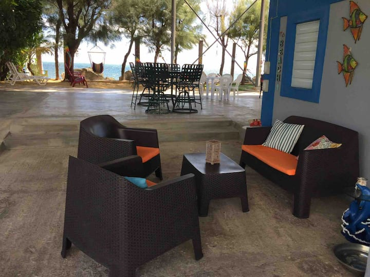 "The Place at the Sea apartments.""Almeja"""